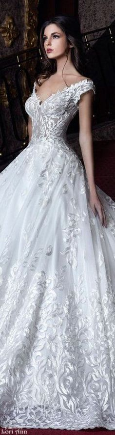 Style & Design Gallery: 50 Most Elegant Wedding Dresses