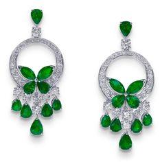 Graff Diamond Earrings.