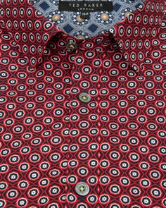 Flower print shirt - Red | Shirts | Ted Baker