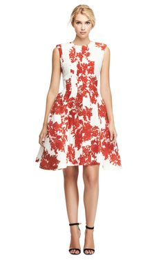 another great Spring/Summer dress that I'd like a few inches longer. but it is lovely as is. lace printed crepe de chine dress (Thom Browne)