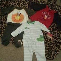 I just discovered this while shopping on Poshmark: Baby boy clothes. Check it out!  Size: .
