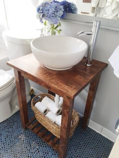 Make even the smallest sinks a happy place.