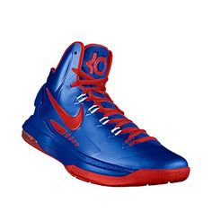 Highest - I designed this at NIKEiD - SMU KD V's. Any KD high tops would be great.