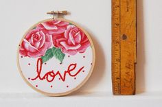embroidery hoop wall art | Embroidery Hoop Wall Art.