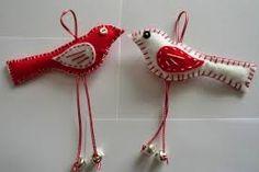 Image result for hanging bird felt garland