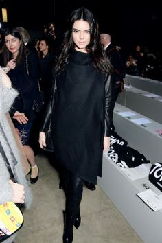 Frontrow London Fashion Week 2014: Kendall Jenner  http://glamour.nl/jy7ebdfnt :