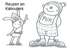 Thema REUZEN en Kabouters (uk en puk)