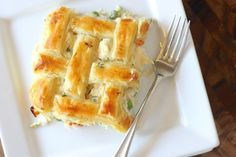 My favorite chicken pot pie recipe with three easy shortcuts to make dinner prep simple.