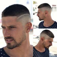 Short haircut (Antonio Junquera) Fade Haircut Styles, Short Fade Haircut, Hair And Beard Styles, Short Hair Cuts, Short Hair Styles, Cool Hairstyles For Men, Hairstyles Haircuts, Haircuts For Men, Soccer Hair