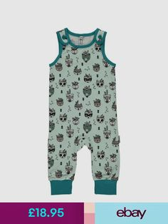 73a20ae6fa12 Maxomorra Babygrows   Playsuits  ebay  Baby. More information. More  information. MEMPHIS MINT baby harem romper Scandinavian baby clothes