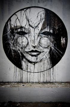 Iemza, Reims, France - unurth   street art