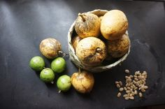 Native fruits from our farm patch in Kapilihan.