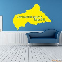 """Wandtattoo """"Zentralafrikanische Republik"""" - 9,95€"""