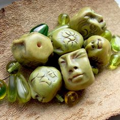Polymer Face Beads | by graphixoutpost