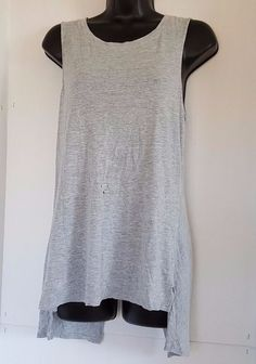 Trouve Womens Sleeveless Twist Back Top Size Medium #Trouve #KnitTop