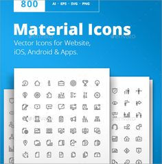 Graphic Design Fonts, Photoshop, Icon Font, Material Design, Android Apps, Icon Design, Clip Art, Icons, Free