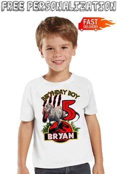 Jurassic Park Birthday Boy Birthday Girl shirts for All Family