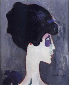 Kees van Dongen - La marquise Luisa Casati