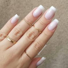 Wedding Nails-A Guide To The Perfect Manicure – Page 2003626914 – NaiLovely Cute Nails, Pretty Nails, Anchor Nails, Nail Ring, Sparkle Nails, Elegant Nails, Beautiful Nail Designs, Perfect Nails, Holiday Nails