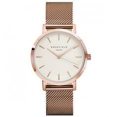Rosefield Watch! The Mercer rosegold #Rosefield #Watch Shop now: www.surpresa.de
