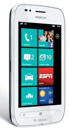 Nokia Lumia 710 Windows Phone with LTE suppot