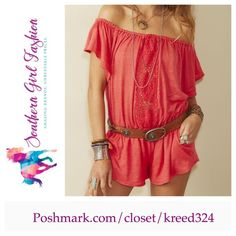 """ETERNAL SUNSHINE CREATIONS Romper Ophelia Crochet Size XS/S. New With Tags $188.  Elastic waist / shoulders. Pockets & lined shorts. *By ESC for Free People *100% Polyester   Measurements for XS/S (flat): Top: 17"""" (extended: 32"""").  Waist: 13"""" (extended: 22"""").  Underarm to Underarm: 23"""" Sleeve: 9"""" Inseam: 2"""" Length: 33""""   ❗️ Please - no trades, PP, holds, or Modeling.   ✔️ Reasonable offers considered when submitted using the blue """"offer"""" button.    Bundle 2+ items for a 20% discount!    Stop…"""