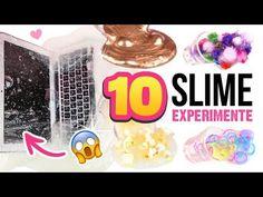 MACBOOK SCHLEIM Pompoms, Popcorn und Loom Experimente Slime selber machen Deutsch - YouTube