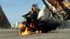 What is everyone doing for the ghost rider movie??