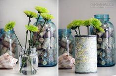 Old baby food jars? Turn them into bud vases!