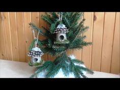 Vtáčia búdka  na vianočný stromček - YouTube