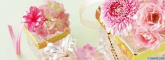 gifts decorating summer flowers Facebook Cover timeline photo ...