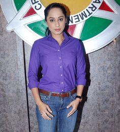 Ansha Sayed who plays officer Purvi on sets of 'CID'. #Bollywood #Fashion #Style #Beauty