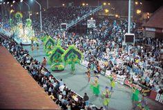 El carnaval de Gualeguaychu, entre ríos, Argentina