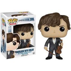 Funko POP! TV Sherlock Sherlock Holmes (with violin), Assorted