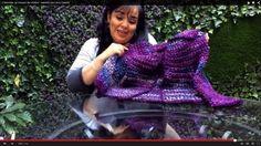 Cómo tejer mangas a un Chaleco - Tejiendo con Laura Cepeda