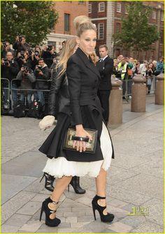 Sarah Jessica Parker. I love her style!