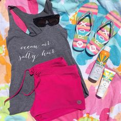 Ocean Air, Salty Hair Tank – Kelly Elizabeth Designs