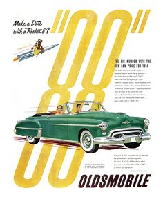 Oldsmobile Rocket 88 ad