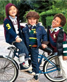 Ralph Lauren boys- My favorite designer for Little M