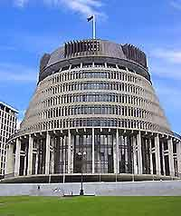 Parliament Building and Beehive: Wellington, North Island, New Zealand Famous Buildings, Famous Landmarks, Australia Continent, Long White Cloud, Kiwiana, Building Art, The World's Greatest, Continents, Places Ive Been