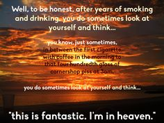 """If Bernard Black Quotes Were Motivational Posters: """"This is fantastic, I'm in Heaven"""""""
