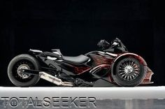custom can am spyder; love it! (I must be getting old)