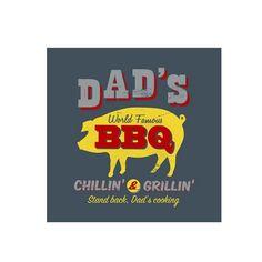 Quadro Dads BBQ Retro