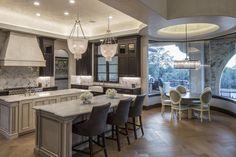 Clean European   Vanguard Studio   Architect Austin, Texas Texas Mansions, Beautiful Kitchens, Elegant Kitchens, Autumn Home, Bedroom Decor, Layout, House Design, Interior Design, Studio