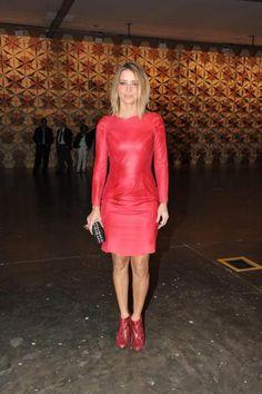 Bastidores SPFW, Christine Fernandes, vermelho, all dressed in red 12/06/2012