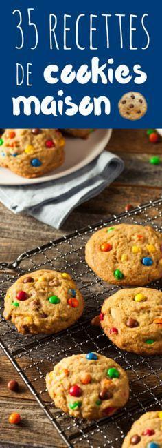 Au chocolat, au caramel, aux smarties... 35 recettes de cookies maison !