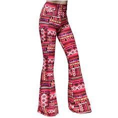 dc068df8d9 SMT Women's High Waist Wide Leg Long Palazzo Bell Bottom Yoga Pants