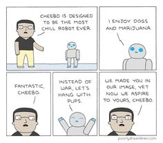 The Most Chill Robot