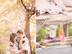 Vintage Inspired Anniversary Photos in the Woods