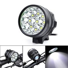 Gugou Bike Light Headlamp 9T6 15000LM 3 Mode with 84v 12000mah 18650 battery pack charger Cycling Bicycle flashlight 9Cree XML T6 Black >>> You can find out more details at the link of the image. (Note:Amazon affiliate link)